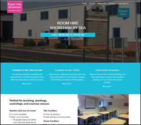 Shoreham room hire website