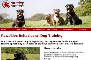 Muttley Matters dog training