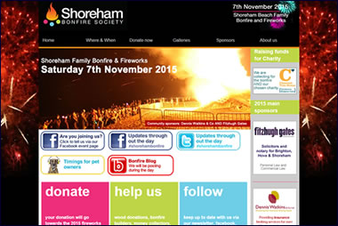Shoreham Bonfire Society Sussex